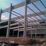 Estrutura para galpão em concreto
