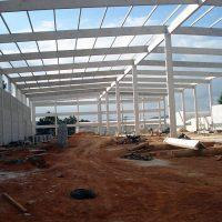 Fábrica de pré-moldados de concreto
