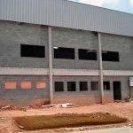 Galpão de concreto