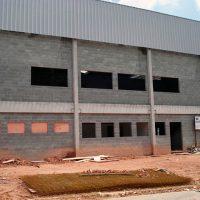 Orçamento de construção de galpão industrial