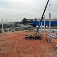 Pilar concreto pré moldado